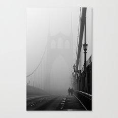 Gothic Bridge Canvas Print