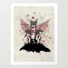 The Final Cut Art Print