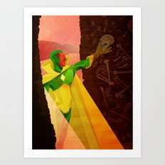 The Vision of Man Art Print