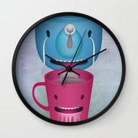 Tea Potty Wall Clock