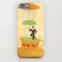 iPhone & iPod Case featuring English Rain by Steven Lefcourt