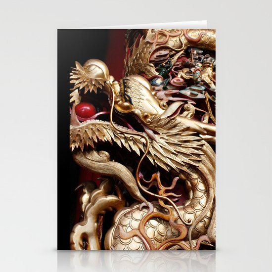 Dragon  Stationery Card