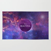 Life is Beautiful Rug