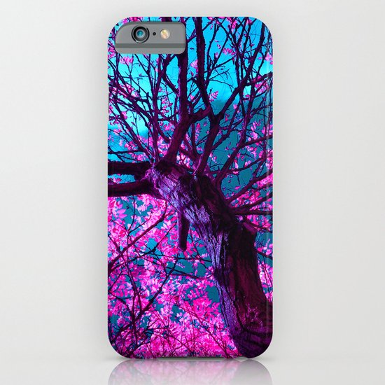 purple tree XII iPhone & iPod Case