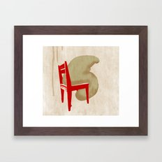 i don't know what the problem is Framed Art Print