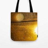 Bokah Drops Tote Bag