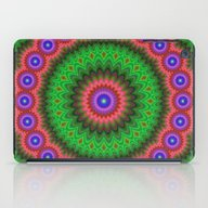 Mandala Flower Bouquet iPad Case