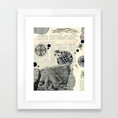 spiders, scorpions, and mites Framed Art Print