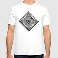 Garden of Illusion 2 Mens Fitted Tee White SMALL