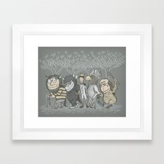 The Mild Rumpus Framed Art Print