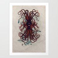 Cthulu Art Print