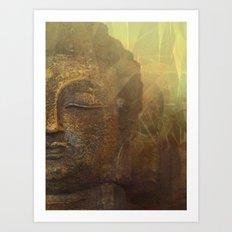 Buddha 8 Art Print