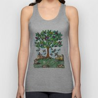 Flutterby Tree Unisex Tank Top