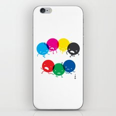 CMYK fights RGB iPhone & iPod Skin