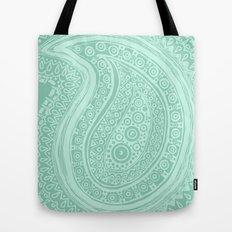 C13 paisley pattern Tote Bag
