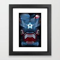 Iron/Patriot Body Armor. Framed Art Print
