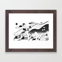 Hurry! Framed Art Print