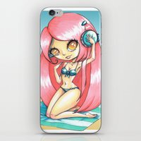 ROSTED CANELLA iPhone & iPod Skin