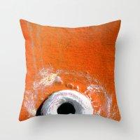 White Hot Throw Pillow