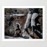 The Ledge  Art Print