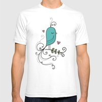 Ladybird Mens Fitted Tee White SMALL