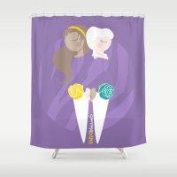 Teenage Endometriosis Awareness Shower Curtain
