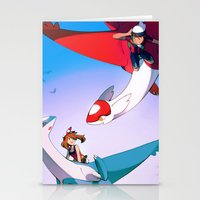 Eon Flute Stationery Cards