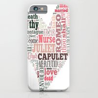 iPhone & iPod Case featuring Shakespeare's Romeo and Juliet Heart by MollyW