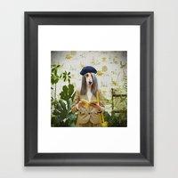 Family Portrait N°2 Framed Art Print