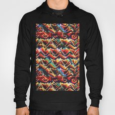 Colorful Geometric Motif Hoody