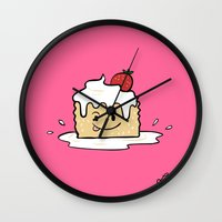 Tres Leches Wall Clock