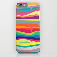 iPhone Cases featuring The Melting by Joe Van Wetering