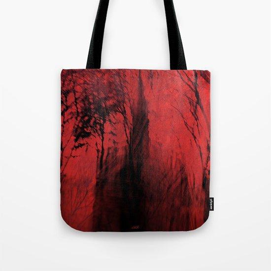 Blood red sky Tote Bag