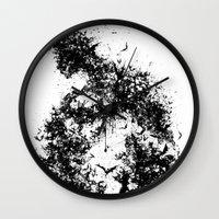 A Dark Cave Wall Clock