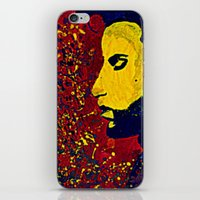 Prince Portrait iPhone & iPod Skin