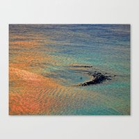 Colors of the Caribbean Canvas Print