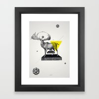 Archetypes Series: Dignity Framed Art Print