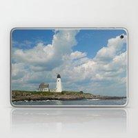 Wood Island Lighthouse Laptop & iPad Skin