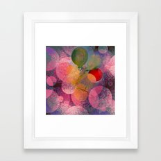BALLOON LOVE  - Wish To … Framed Art Print