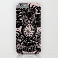 iPhone & iPod Case featuring Tiki lunch by CHAUCHE