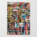 Visual Sequence #007 Canvas Print