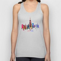 new york inked  Unisex Tank Top
