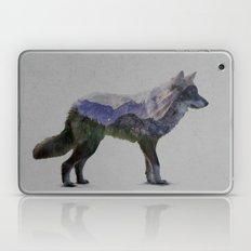 The Rocky Mountain Gray Wolf Laptop & iPad Skin