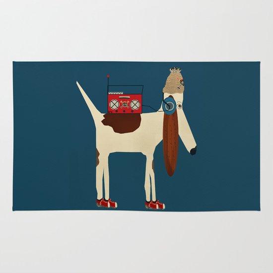 bootleg beagle  Area & Throw Rug