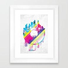 Urban Vinyl V2 Framed Art Print