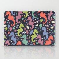 Dancing Seahorses iPad Case