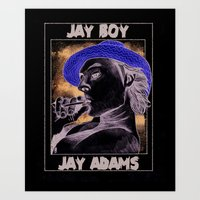 Jay Adams Art Print