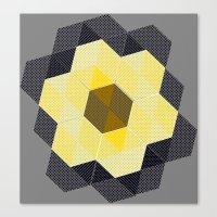 Tiling II Canvas Print