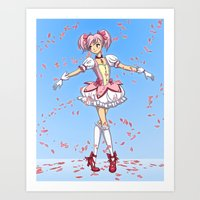 Madoka - Tiny Dancer Art Print