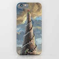 iPhone & iPod Case featuring TOWER OF MABEL by Santiago Vecino